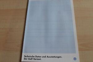 133038-VW-Golf-III-Variant-technische-Daten-amp-Ausstattungen-Prospekt-07-199