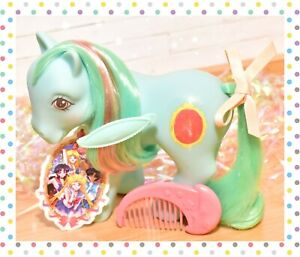 ❤️My Little Pony MLP G1 Vtg Magic Message Mirror Mirror Original Comb 1987❤️