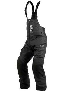FXR EXCURSION ICE PRO MENS BIBS WARM WINTER SNOWMOBILE SNOW PANTS - 3XL - NEW