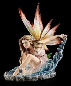 Elementar Elfen Figur - Llayda beschwört Wasser - Fee Statue