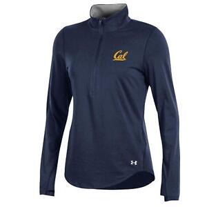 57be2c61b7 Details about Under Armour UA NCAA Women's 1/4 Zip Pullover California Cal  Bears XL