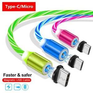 LED-Streamer-USB-Kabel-fuer-Ladekabel-vom-Typ-C-Micro-USB-Ladekabel-b