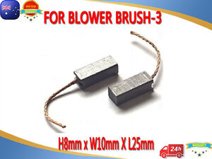 Brand new 8X9X25mm Carbon Brushes for Mercedes Heater Blower Motor