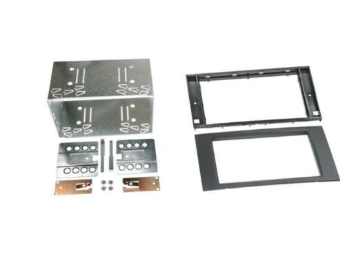 for Ford Galaxy WA6 Car Radio Panel Mounting Frame Double DIN 2DIN Black