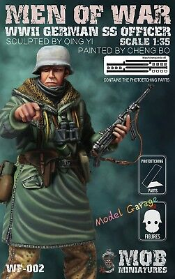1//35 Brand-new unassembled MOB Men of War WWII German SS Grenadier Figure WF-001