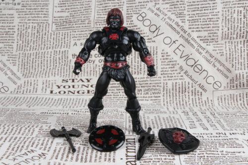Masters of the Universe MOTU Classics Anti-Eternia Black Nemesis HE-MAN Loose
