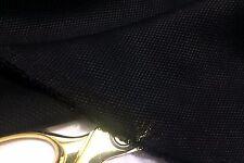 NEW Smooth Textured Black Silk/Viscose Rayon Blend Craft/Lining Fabric*FREE P&P*