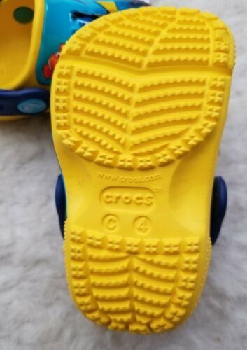 NWT Crocs Fun Lab Finding Dory Clogs Yellow//Blue Toddler Kids Size c4