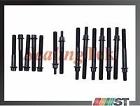 96-06 Jeep 4.0l Ohv L6 Engine Cylinder Head Bolt Set Kit Vin s v Amc Motor