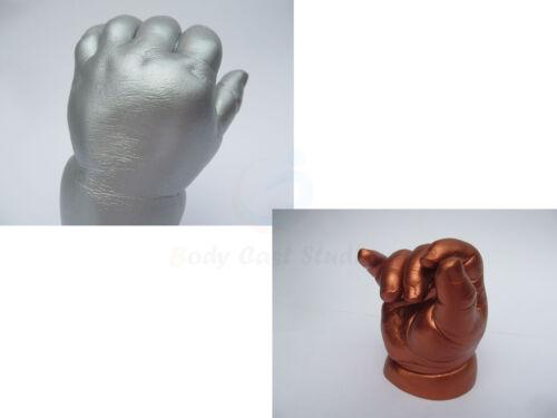 Bebé recién nacido 3D huella de impresión de mano 500gr Kit de fundición yeso de alginato Moldeo