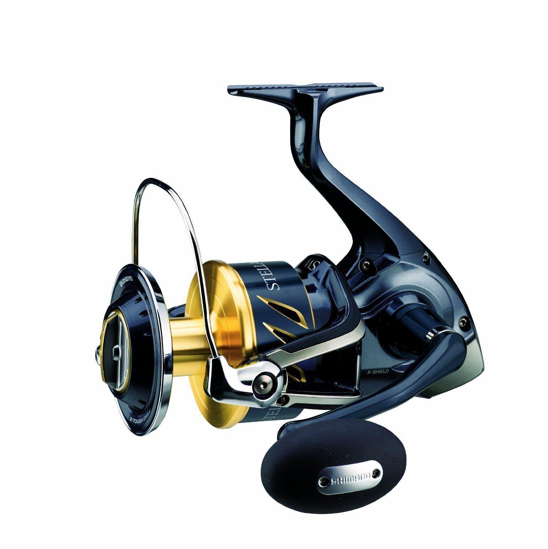 Shimano Stella 20000 SW-B PG, Heavy Duty Salzwasser Rolle, STL20000SWBPG