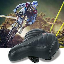 Neu Soft Comfort Sporty Wide Big Bum Bike Bicycle Gel Cruiser Pad Saddle Seat