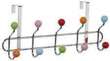Premier Housewares Chrome 10 Hook Over Door Hanger With Ceramic Balls -