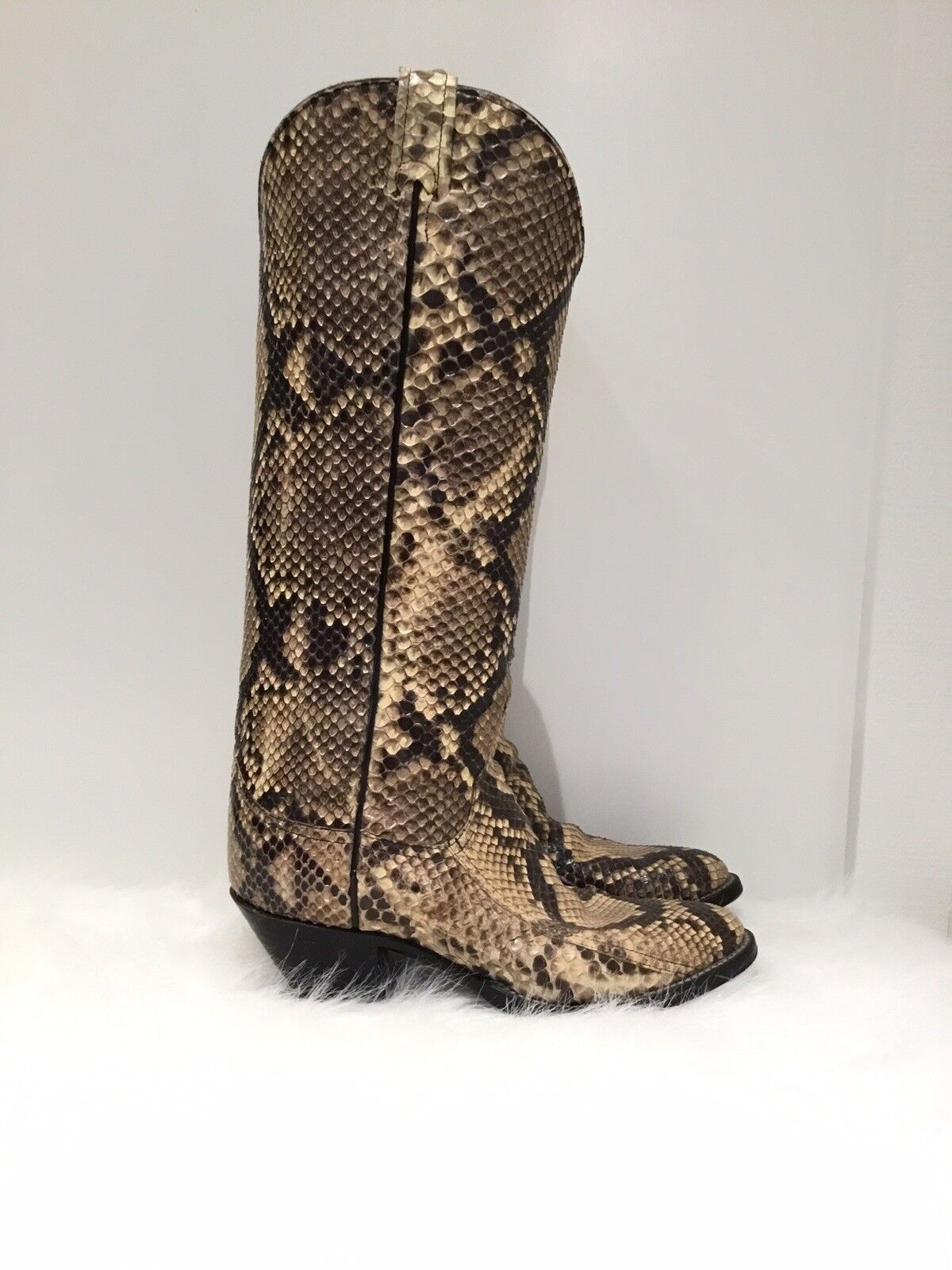 Larry Mahan Piel De Serpiente botas botas Serpiente De Vaquero 6f8ac9
