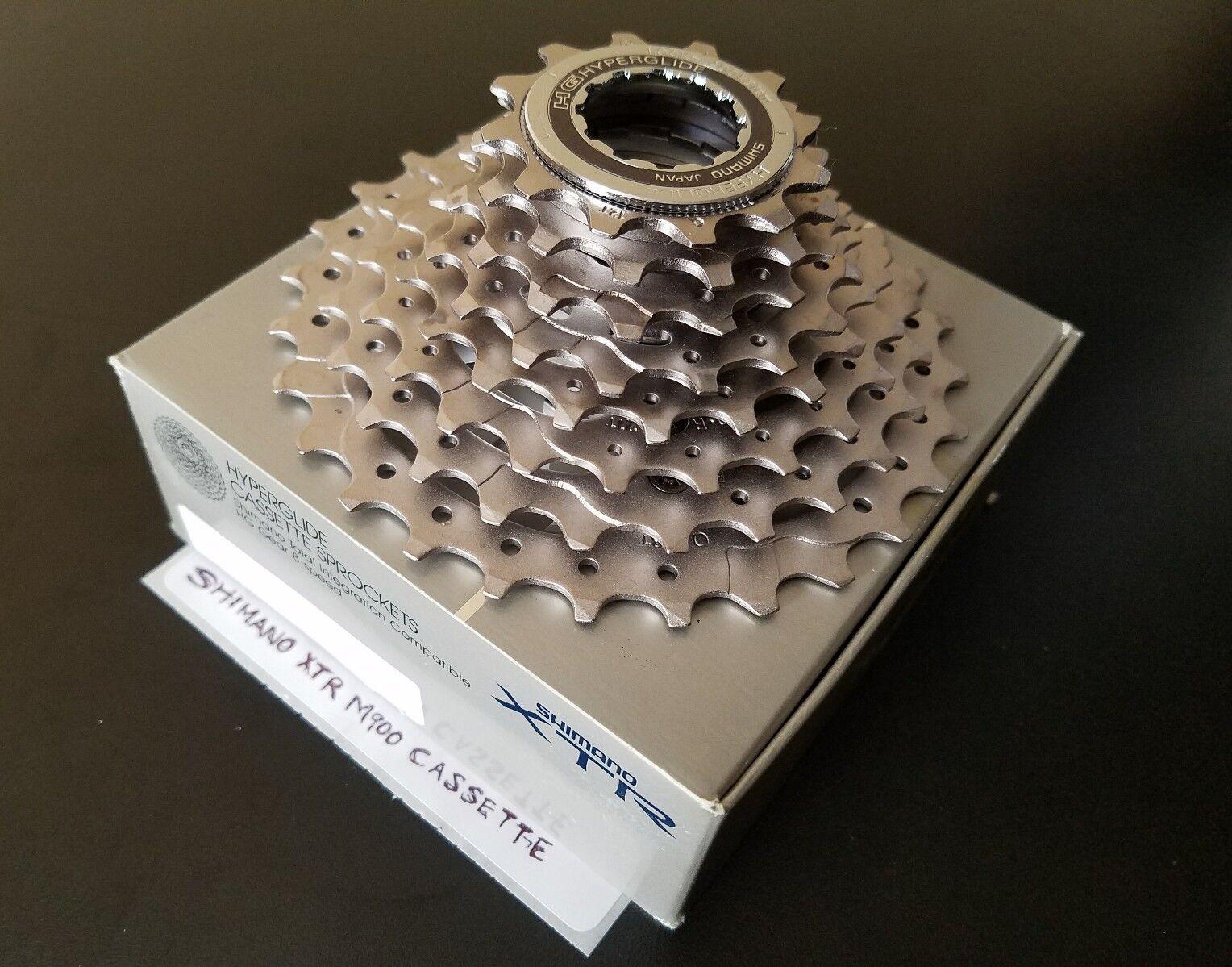NOS Shimano XTR M900 8-Speed Hyperglide Cassette 12-28 Ratio Japan RARE