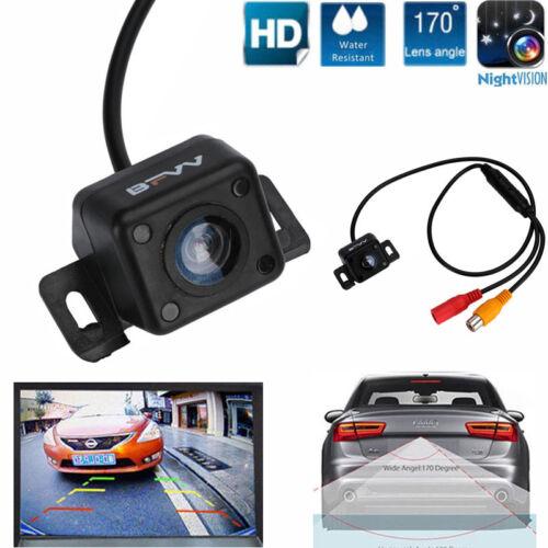 170° CMOS Car Rear View Backup Camera Reverse Night Vision Waterproof /&Dustproof