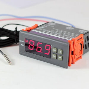 image is loading dc-12v-f-fahrenheit-temperature-controller-thermostat -control-
