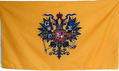 Fahne Russland Imperial Zaren Flagge 1,5 Meter x 0,9m  mit Oesen # 184 Neu