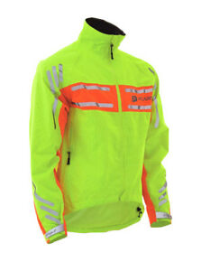 New-Polaris-RBS-Grille-Impermeable-TRES-Visible-Fluo-COMMUTER-Jacket-reduit