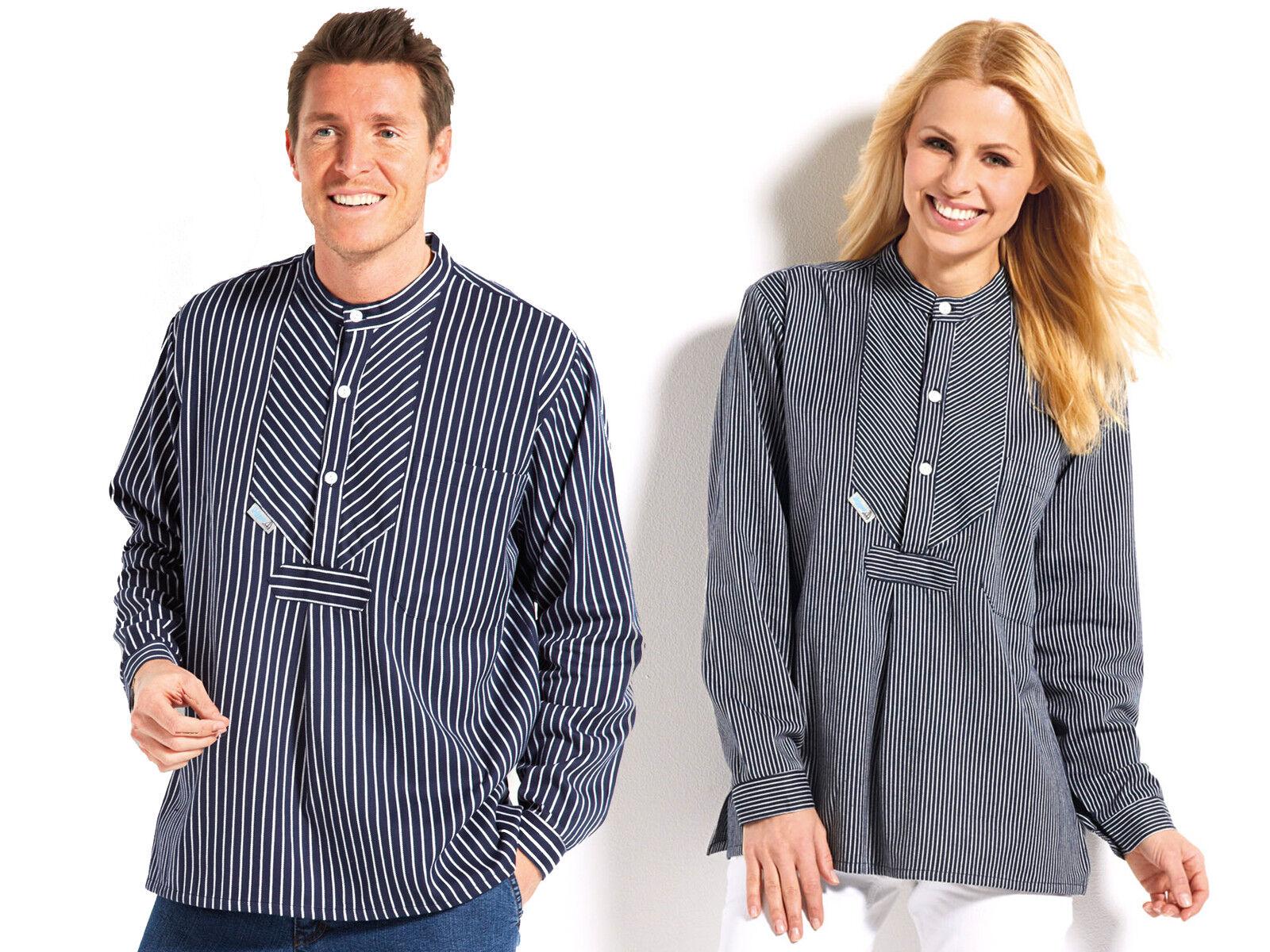 Fishing Shirt Narrow or Wide Striped from Modas S-3XL Finkenwerder Style Shirt