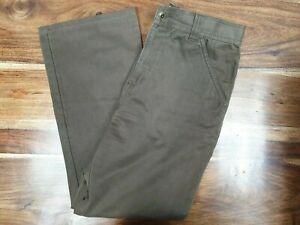 Details zu Tommy Hilfiger vintage 90's denim jeans brown mens size W32 L34 RED Label EUC