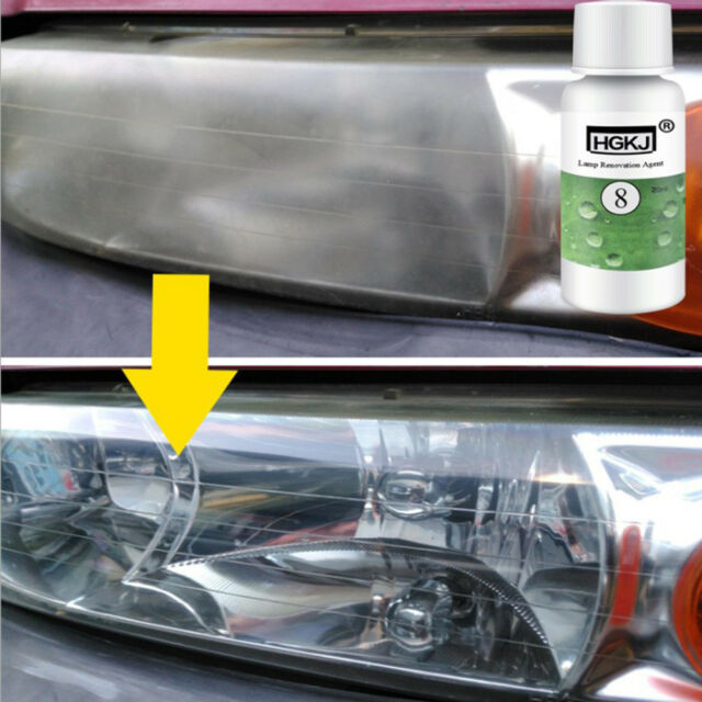 HGKJ Car Headlight Repair Agent Lamp Scratches Oxidation Stain Renovation Agent.