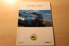 66488) Opel Astra OPC Prospekt 09/1999