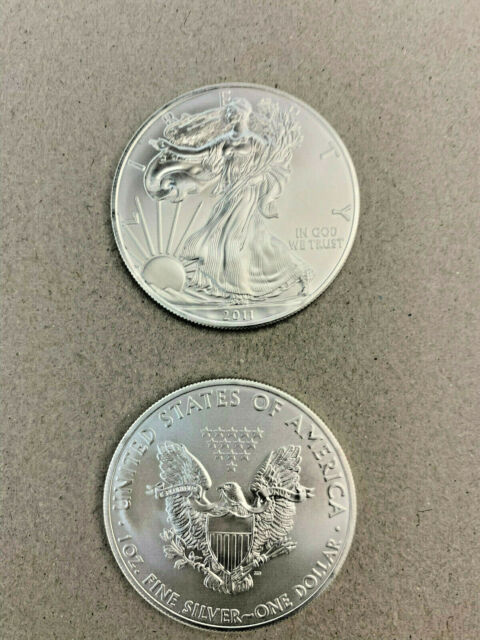 American Eagle One Ounce Silver Coin 2011