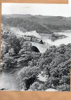 """West Highlander 44932 River Morar Fort william 10""""x8"""" photo."""