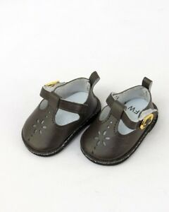 """Gray Mary Jane Shoes made for 18/"""" American Girl Doll Clothes"""