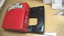 Wheelock As 2475w Fr Fire Alarm Strobe Wall Mount Red Universal New In Box