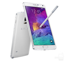 Samsung Galaxy Note 4 SM-N910P - 32GB - Frost White Sprint VERY GOOD CONDITION!