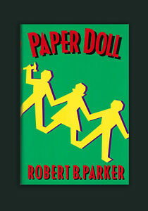 Paper-Doll-Robert-B-Parker-Signed-Inscribed-HC-1st-Edition-Book