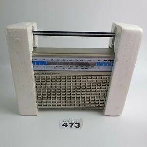 Vintage 1970's Murphy BE-115 Portable Transistor Radio FM/MW/LW Working