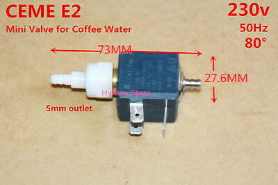 Italy CEME E2 230V Mini Water Valve Coffee Machine Water Valve Solenoid Valve