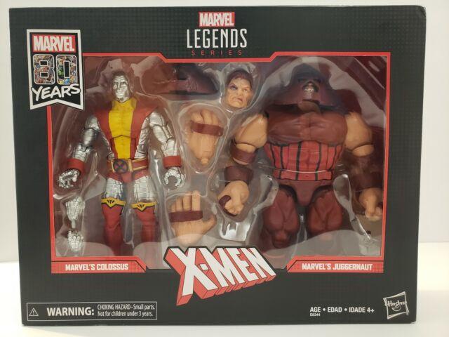 Marvel Legends 80th X-MEN COLOSSUS vs JUGGERNAUT 2 Pack
