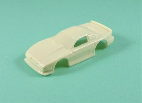 custom resin /'90s scca mustang racer t-jet// jag tr-3 ho slot car body,1//76 scale
