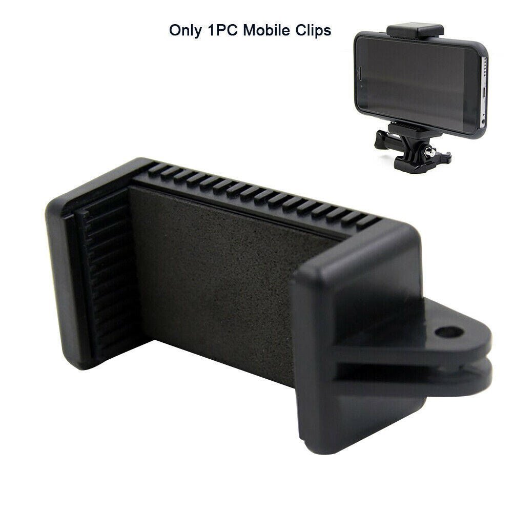 Phone Holder Camera Accessory Clip Universal with 1/4 Screw Hole Stand for GOPRO