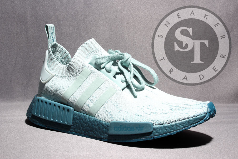 ADIDAS NMD R1 WOMENS PK CG3601 SEA CRYSTAL TURQUOISE DS SIZE: 7