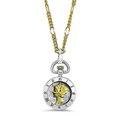 US Mercury Dime Watch Pendant - SKU #86996