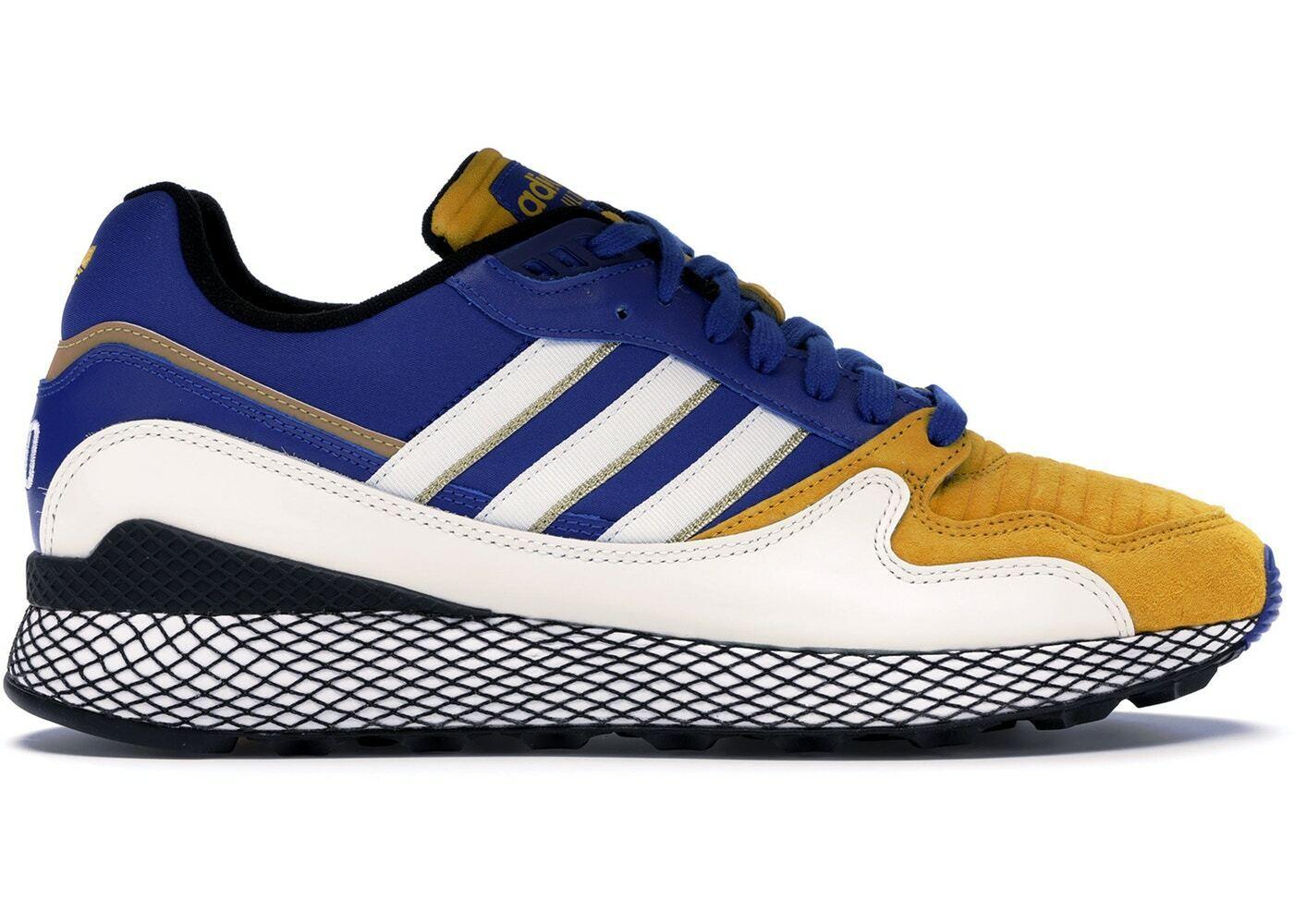 NEW  Adidas X Dragon Ball Z - Vegeta - Ultra Tech - bluee & Yellow - Size 10 US