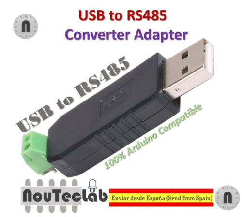 USB to RS485 485 Converter Adapter Support Win7 XP Vista Linux Mac OS