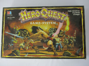 Heroquest ORIGINAL GAME BOX Replacement with Insert Milton Bradley!!