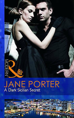 """AS NEW"" Porter, Jane, A Dark Sicilian Secret (Modern) Book"