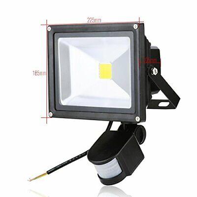 30W PIR Motion Sensor LED Light Lamp Warm White Outdoor Security Lights DCUK