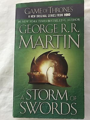 A Storm of Swords Game of Thrones Book Three George R R Martin Paperback