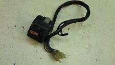 1992 Yamaha XJ600 XJ 600 Seca II Y331' left hand controls blinker switches