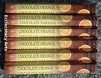 Hem Chocolate Orange Incense 6 X 20 Stick, 120 Sticks