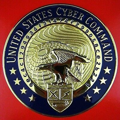 UNITED STATES CYBER COMMAND ID BREAST BADGE MEDAL ORDER  (0)