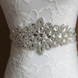 Image Is Loading Vintage Rhinestone Pearl Bridal Jeweled Waist Belt Retro